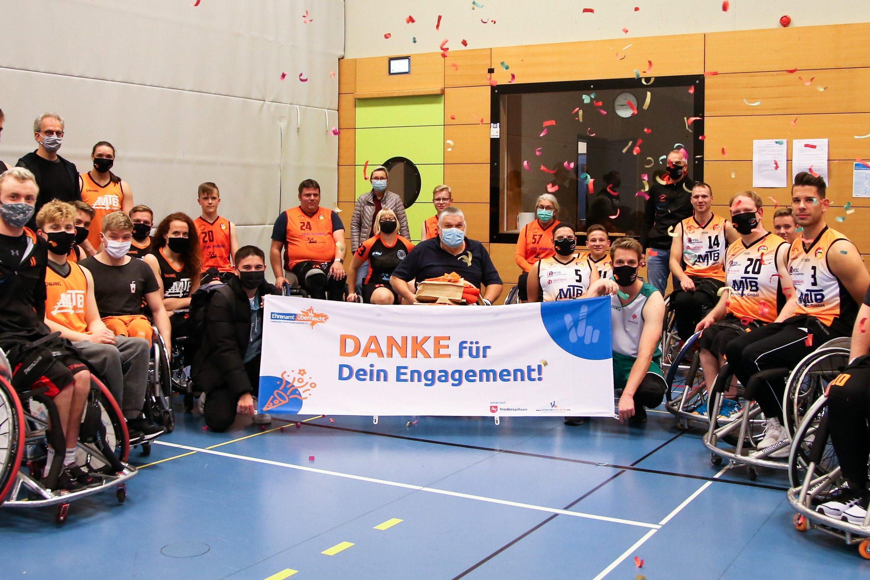 Herr Rößler vom Behinderten Sportbund Hannover...